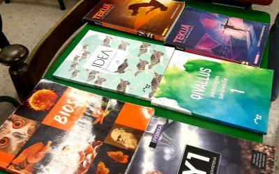 Kauppa kävi opiskelijakunnan kirjakirppiksellä