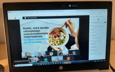 Stora Enson sijoittajapäivä Lsbs5-kurssille